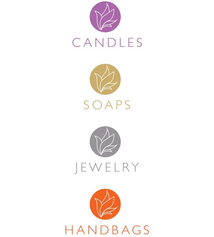 Lily Gardens logos